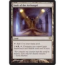 Mtg Lifelink Deathtouch Deck by Amazon Com Magic The Gathering Vault Of The Archangel Modern