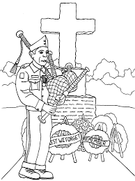 Downloadable Memorial Day Coloring Pages