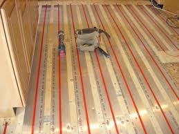 Radiant Floors For Cooling by Radiant Heat Above Sub Floor Bhale