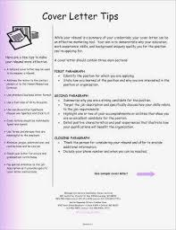 Resume Cover Letter Tips Beautiful Introductory Paragraph Examples