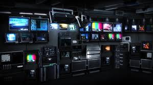 Stock Video Of Newsroom Seamless Loop Defocused Background For