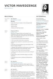 Pre K Teacher Resume Best Of Art Samples Visualcv Database