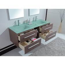 Bathroom Vanities 60 Inches Double Sink by Calypso 60 Inch Modern Double Sink Bathroom Vanity Unique Grey Oak