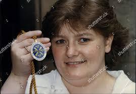 100 The Madalion Clare Seaton Soprano Chorister St Brides Medallion Editorial Stock