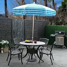 Patio Table With Umbrella Free Standing Umbrellas Outdoors Square