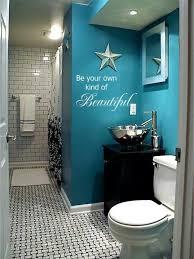 Royal Blue Bathroom Wall Decor by Best 25 Turquoise Bathroom Decor Ideas On Pinterest Teal