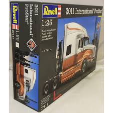Revell 1:25 07411 International Prostar Truck Model Kit - Revell ... Italeri American Supliner 3820 124 New Plastic Truck Model Kit Ford F350 From Meng Model Kit Scale Cars Cheap Peterbilt Kits Find Bedford Tk Cab Milford Models L1500s Lf 8 German Light Fire Icm Holding Mack Dm600 Tractor 125 Mpc 859 Shore Line Dodge Truck Kits Dodge Pickup Factory Sealed Revell 07411 Intertional Prostar Amt Usa Scale Fruehauf Flatbed Trailer Zombie Tales The Apocalypse Scene 1 By Colpars Hobbytown Oil Field Trucks Inscale Pinterest