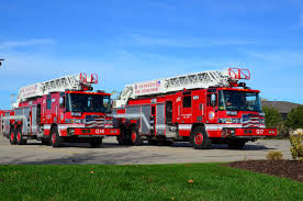 100 Oshkosh Fire Trucks Pierce MFG Delivers New Aerials To WI Department