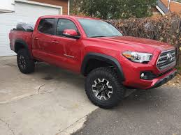 3rd Gen With Larger Tires And/or Lifted On STOCK WHEELS | Tacoma World