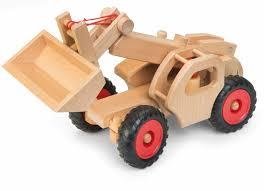 100 Fagus Trucks Wooden Telescopic Loader