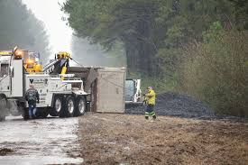 100 Truck Accident Coal Truck Accident Shuts Down Highway Daily Mountain Eagle
