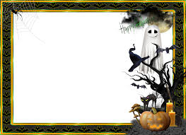Free Cute Halloween Flyer Templates by Halloween Transparent Large Png Photo Frame Photoshop Frame