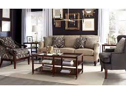 Craftmaster Sofa In Emotion Beige by Craftmaster Accent Chairs Traditional Wood Framed Accent Chair