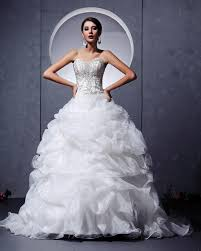 wedding dress ball gown wedding dresses with bling and corset