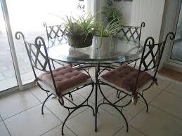 beau table de salon ronde 7 table chaises fer forge clasf