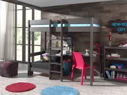bureau pour mezzanine enchanteur lit avec bureau pour fille et lits mezzanines lit