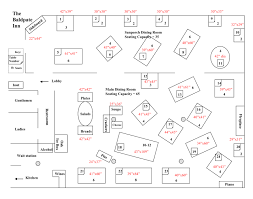 Baldpate Inn Dining Room Floorplan With Table Dimensions Copy Elegant Event Layout Template