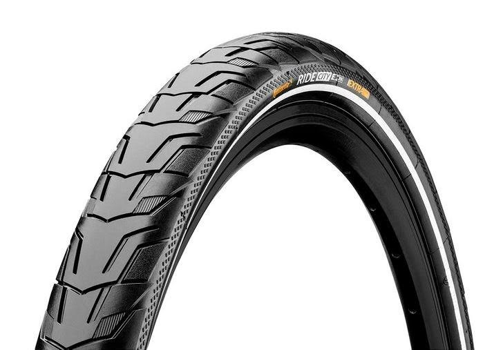 "Continental Ride City Bicycle Tire - Black, Wired, 28""x1.75"""
