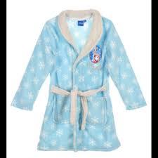 chambre la reine des neiges robe de chambre la reine des neiges bleu taille de 4 à 8 ans ne