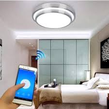jiawen led wifi wireless ceiling lights indoor smart lighting with