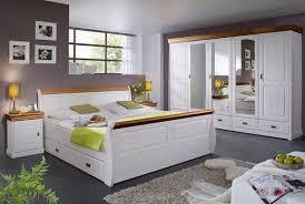 schlafzimmer kiefernholz linea komplett weiß massivholz