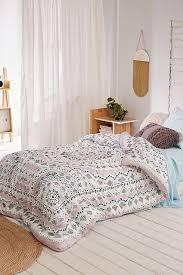 plum bow mia medallion comforter snooze set urban outfitters