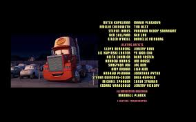 100 Truck Movies During The Credits Of Cars 2006 The Cars Watch Versions Of Disney