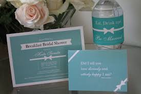 Bridal Shower Qoutes by A Custom Bridal Shower Tiffany Style Graphic Poetry