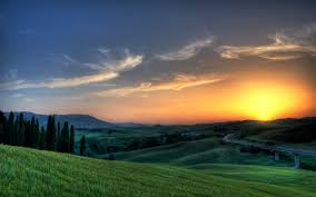 Sunset In Tuscany Wallpapers