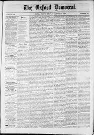bureau v駻itas formation oxford democrat vol 36 no 37 october 01 1869