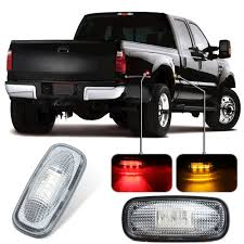 KEYECU 2Pieces 12V Amber LED Fender Bed Side Marker Lights Set For ... Dual Tailgate Light For Pickups Truck Led Lights Light Bar Strips Amazoncom Mictuning 2pcs 60 White Led Cargo Truck Bed Strip 200914 Ingrated Full Rail Lighting Kit F150ledscom 8 Ultra Bright Lights23826 The Home Depot Magnetic Under The Lux Systems With Auxbeam Pods Youtube How To Install Access Truxedo 1704998 Luggage Blight Battery Powered 18 1 Trunk Tail Gate Bar For Backup Reverse Brake 50 Lights Reliable Supplier Of Auto