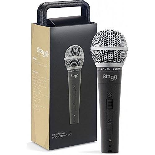 Stagg Quality Professional Lightweight Karaoke Vocal Dynamic Microphone