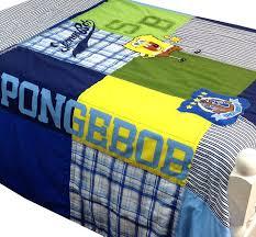 Spongebob Bedroom Set by Amazon Com Nickelodeon Spongebob Quilt Set Full Queen 3 Pieces