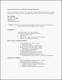 Nursing School Resume Lovely How To Write An Impressive Pre