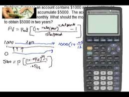 Sinking Fund Calculator Compounded Weekly by Annuities And Payments Over Time With The Baii Plus Youtube