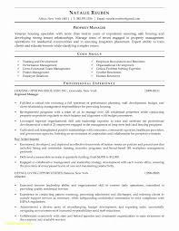 Property Manager Resume Elegant Residential Samples Unique Leasing Of