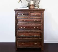 Babi Italia Dresser Tea Stain by Bowry Reclaimed Wood Tall Dresser Pottery Barn