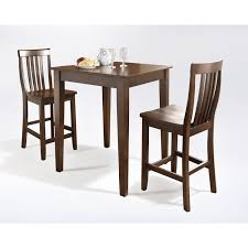 Crosley Furniture Three Piece Pub Dining Set With Tapered Leg And ... Shop Psca6cmah Mahogany Finish 4chair And Ding Bench 6piece Three Posts Remsen Extendable Set With 6 Chairs Reviews Fniture Pating By The Professionals Matthews Restoration Tustin Chair Room Store Antoinette In Cherry In 2019 Traditional Sets Covers Leather Designs Dark Superb 1960s Scdinavian Design Rose Finished Teak Transitional Upholstered Mahogany Ding Room Chairs Lancaster Table Seating Wooden School House Modern Oval Woptional Cleo Set Finish Home Stag Extending Table 4