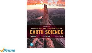 Amazon Applications And Investigations In Earth Science 9th Edition 9780134746241 Edward J Tarbuck Frederick K Lutgens Dennis G Tasa Books