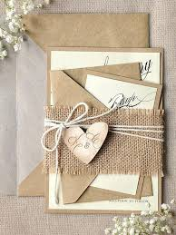 Lovely Kraft Paper Wedding Invitations And Rustic Country Ideas 58 Cheap Craft