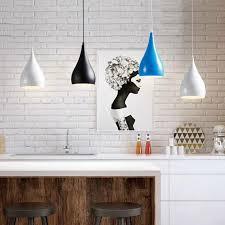 minimalistischen amerikanischen landhausstil kunst pendelleuchte aluminium hängele für esszimmer wohnzimmer 110 240 v