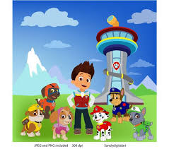 Tower clipart paw patrol Pencil and in color tower clipart paw
