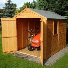 Cheap 6 X 8 Wooden Sheds by Shire Warwick Shiplap Apex Shed 6x8 Garden Street