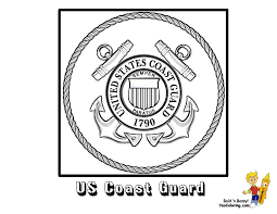 You Can Print Coloring Page Of US Coast Guard Flag Seal At YesColoring