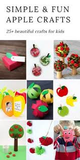 From Paper To Pine Cones Mason Jar Rings These Creative Apple Crafts For Kids