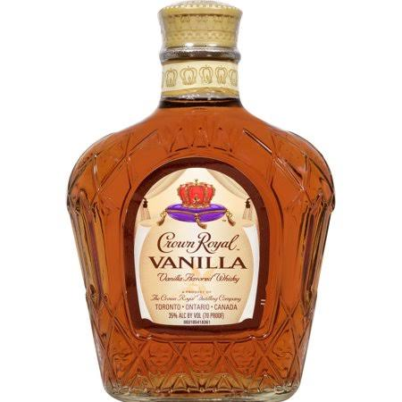 Crown Royal Whisky, Vanilla Flavored - 375 ml