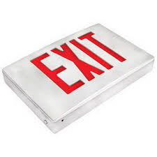 exitronix 400u 8 lb bl exit signs crescent electric supply company