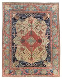 A Kashan Mohtasham Carpet Central Persia Second Half 19th Century 12 Ft 3