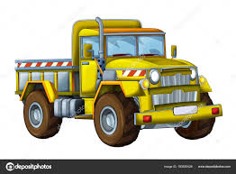 100 Funny Truck Pics Cartoon Happy Construction Site White Background Smiling