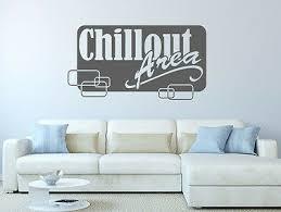 wandtattoo sprüche chillout lounge schlafzimmer worte